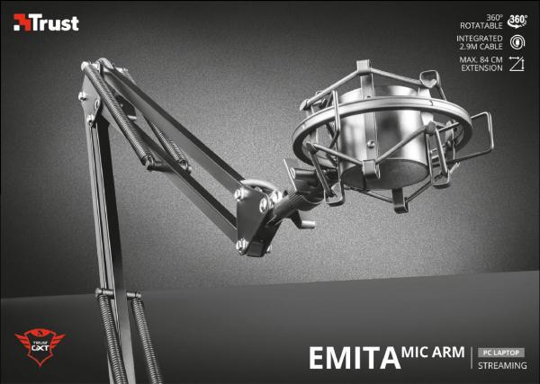 Trust GXT 253 Emita Streaming Microphone 3