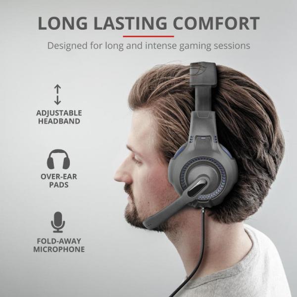Trust GXT 307B Ravu Gaming Headset PS4 6