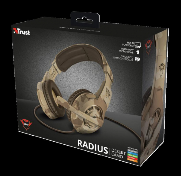 Trust GXT 310D Radius Gam Headset - Camo 11