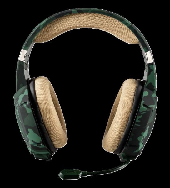 Casti Gaming Trust GXT 322C Carus, Microfon, Jack 3.5mm (Verde) 2