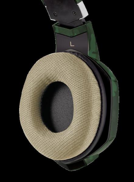 Casti Gaming Trust GXT 322C Carus, Microfon, Jack 3.5mm (Verde) 4