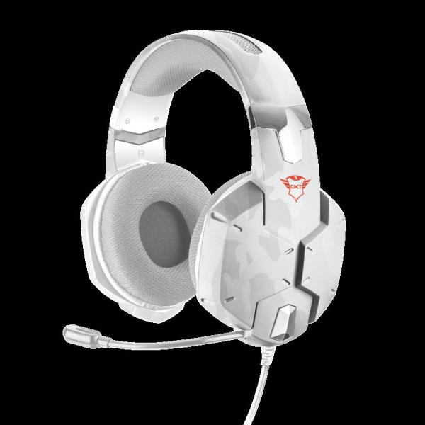 Casti gaming Trust GXT 322W, White camouflage 0