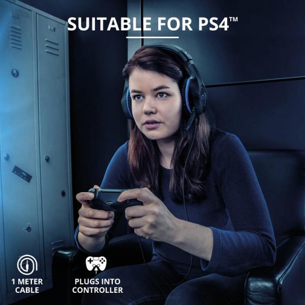Trust GXT 404B Rana Gaming Headset PS4 5