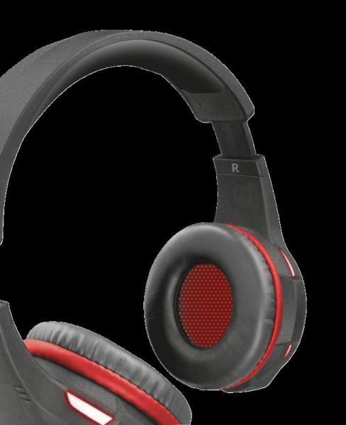 Trust GXT 407 Ravu Illuminated Headset 4