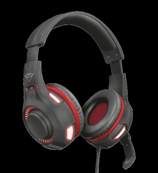 Trust GXT 407 Ravu Illuminated Headset 0