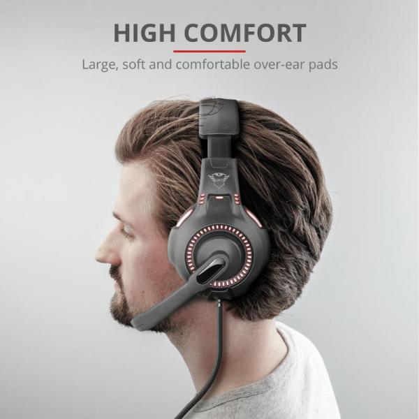Trust GXT 407 Ravu Illuminated Headset 9