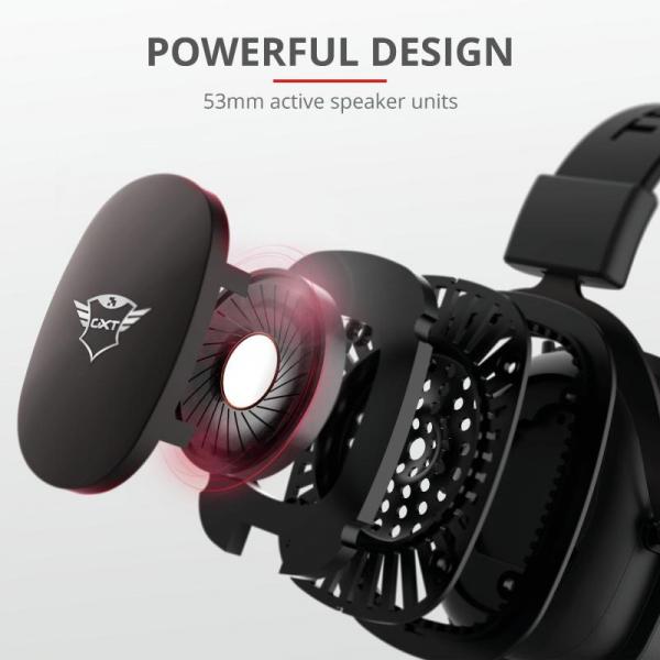 Trust GXT 414 Zamak Premium Headset 3
