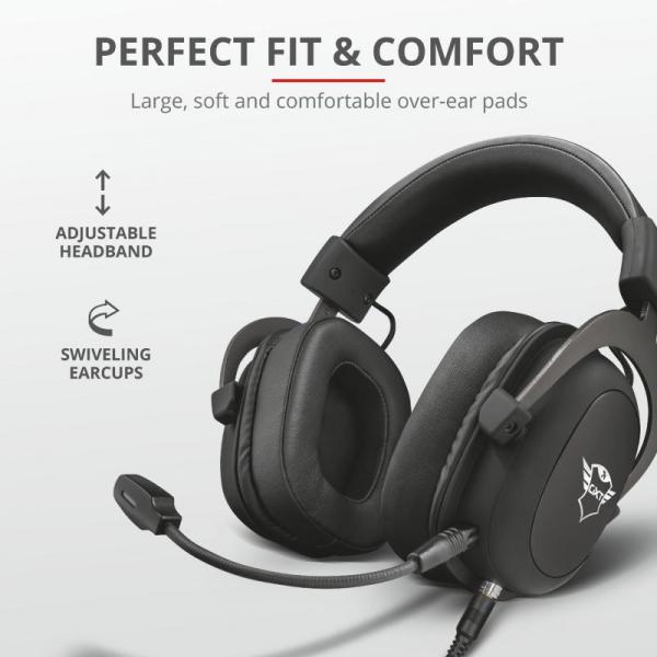 Trust GXT 414 Zamak Premium Headset 5