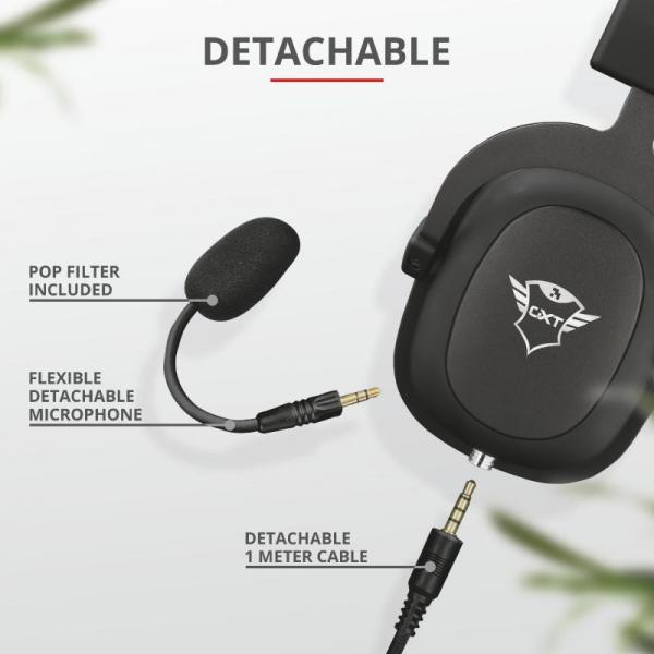 Trust GXT 414 Zamak Premium Headset 4