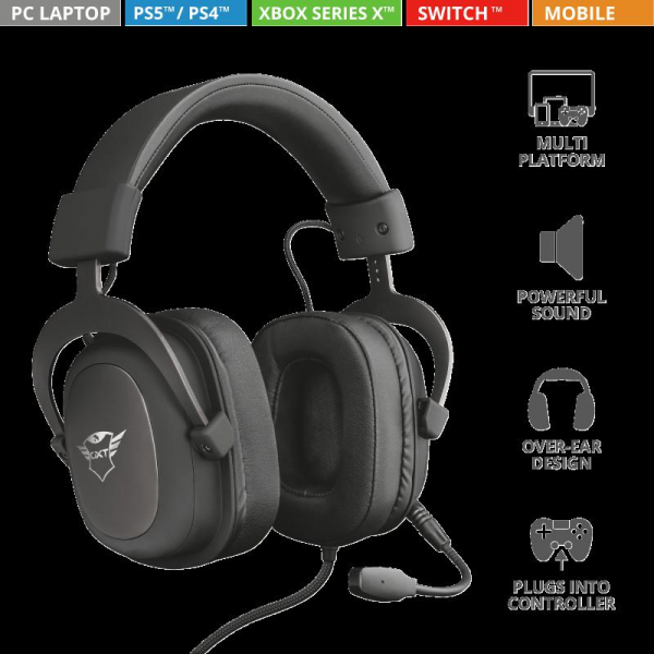 Trust GXT 414 Zamak Premium Headset 1