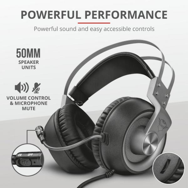 Trust GXT 430 Ironn Gaming Headset 5