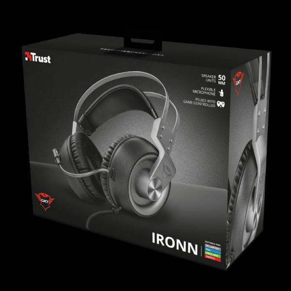 Trust GXT 430 Ironn Gaming Headset 8