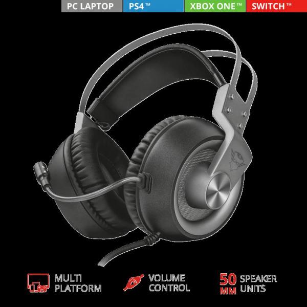 Trust GXT 430 Ironn Gaming Headset 1