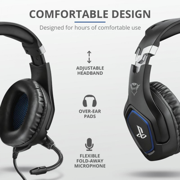 Trust GXT 488 Forze PS4 Gaming Headset 7
