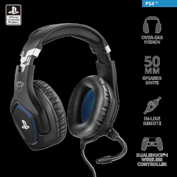 Trust GXT 488 Forze PS4 Gaming Headset 3