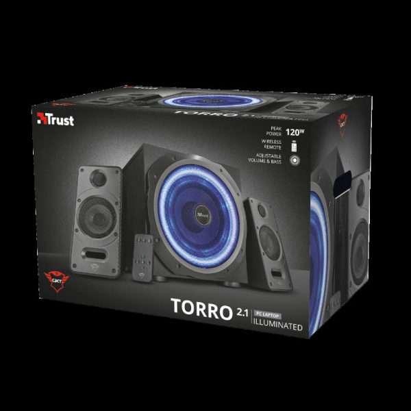 Trust GXT 688 Torro Illuminated 2.1 Set 10