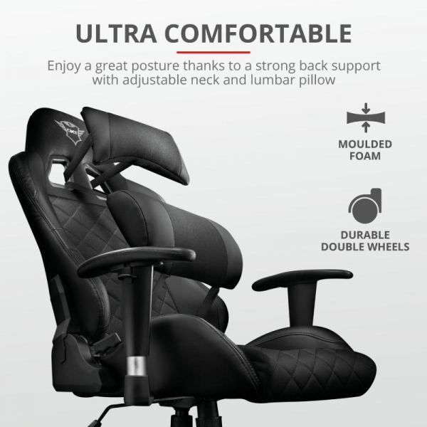 Trust GXT 707 Resto Gaming Chair - black 2