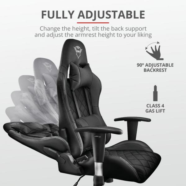 Trust GXT 707 Resto Gaming Chair - black 1