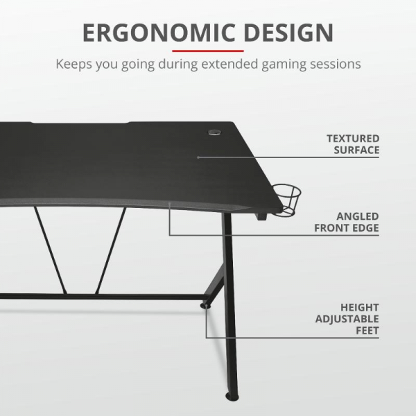 Trust GXT 711 Dominus Gaming Desk 10