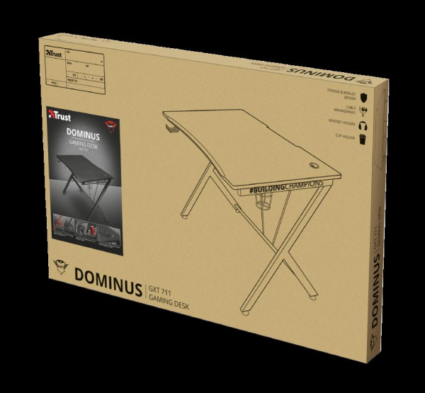 Trust GXT 711 Dominus Gaming Desk 16