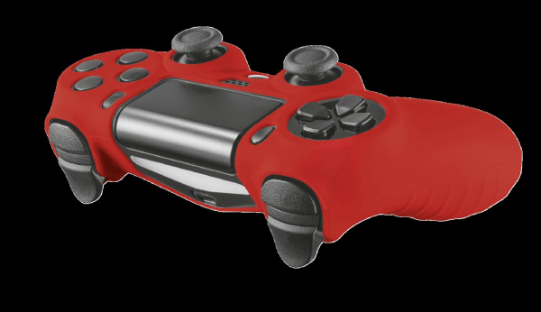 Trust GXT 744B Rubber Skin PS4 CTRL Red 3