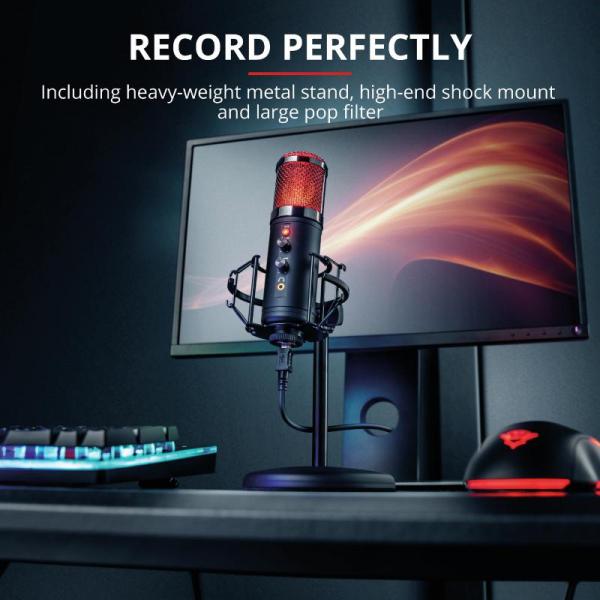 Trust GXT256 EXXO Streaming Mic USB 9