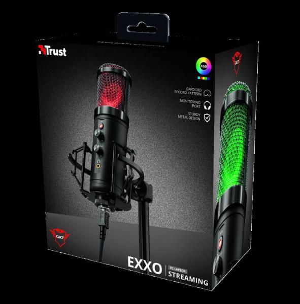 Trust GXT256 EXXO Streaming Mic USB 11
