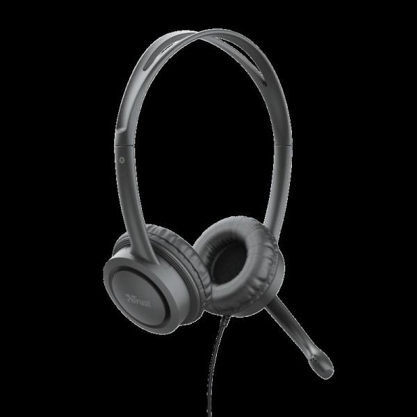 Casti cu microfon Trust Mauro USB Headset for PC and laptop 17591 0