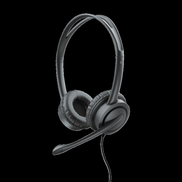 Casti cu microfon Trust Mauro USB Headset for PC and laptop 17591 1