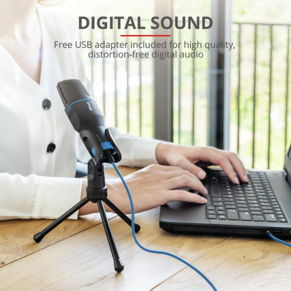 Trust Mico USB Microphone for PC/laptop 7