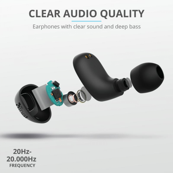 Trust Nika Compact Bluetooth Earphones 2