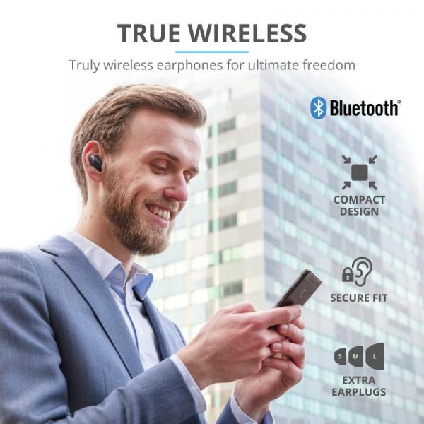 Trust Nika Compact Bluetooth Earphones 8