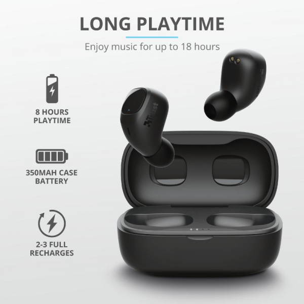 Trust Nika Compact Bluetooth Earphones 6