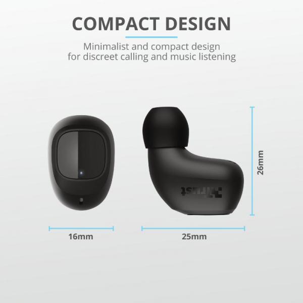Trust Nika Compact Bluetooth Earphones 1