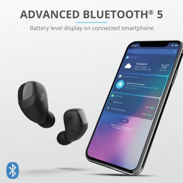 Trust Nika Compact Bluetooth Earphones 7