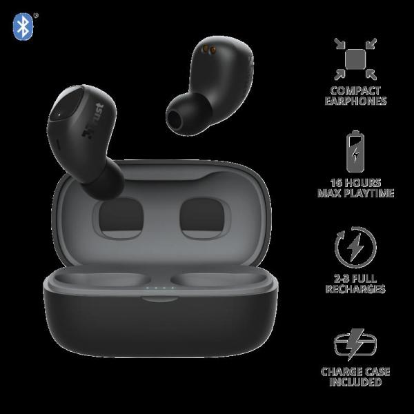 Trust Nika Compact Bluetooth Earphones 4