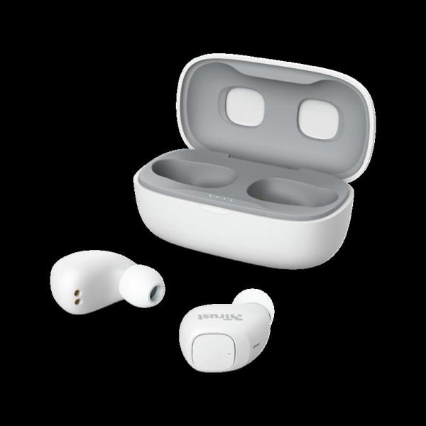 Trust Nika TWS Bluetooth Earphones White 1