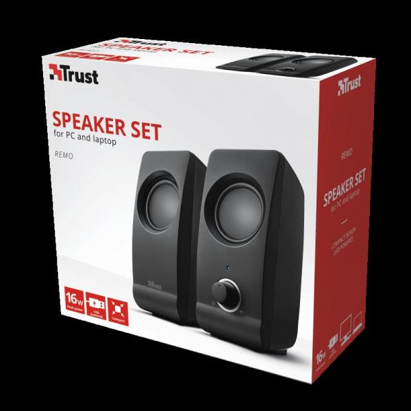 Boxe Stereo Trust Remo 2.0 Speaker Set TR-17595 7