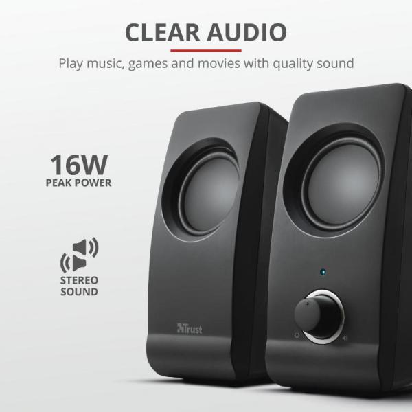 Boxe Stereo Trust Remo 2.0 Speaker Set TR-17595 3