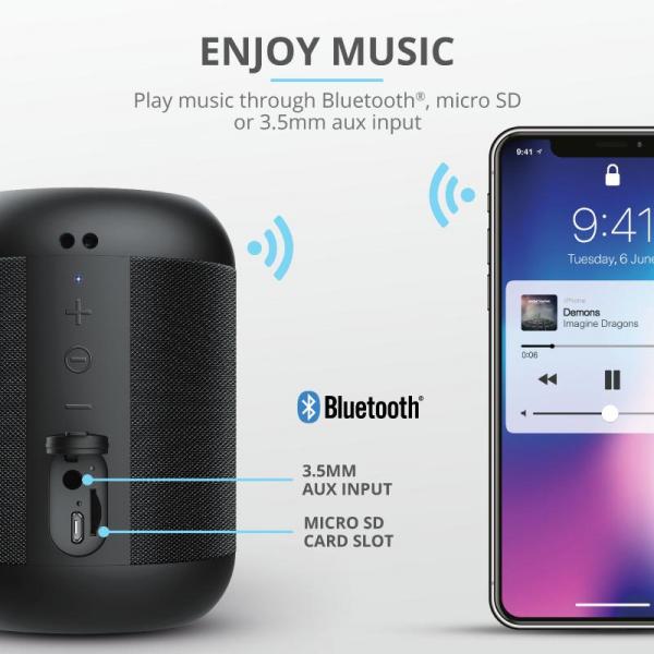 Trust Rokko Bluetooth Wireless Speaker 5