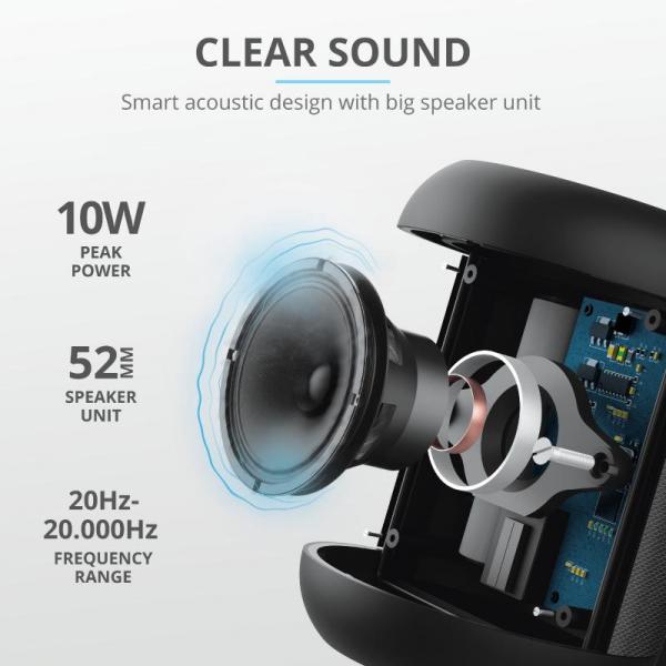 Trust Rokko Bluetooth Wireless Speaker 4