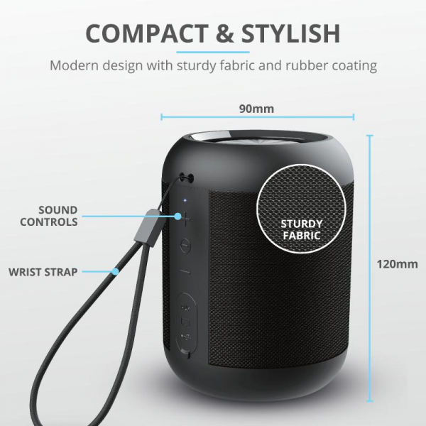 Trust Rokko Bluetooth Wireless Speaker 6