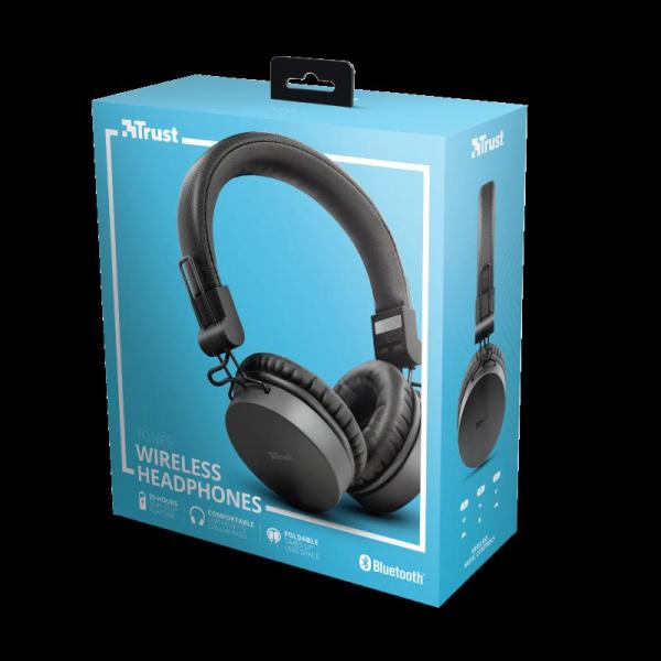 Trust Tones Bluetooth Wireless Headphone 7