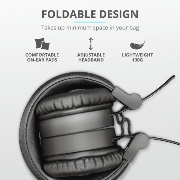 Trust Tones Bluetooth Wireless Headphone 4
