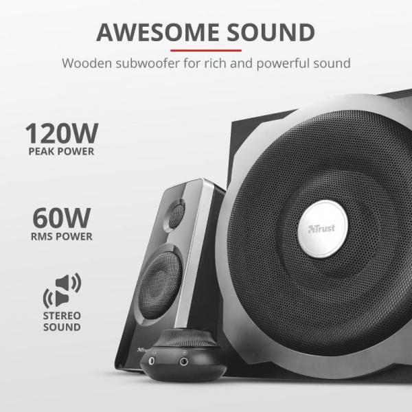 Trust Tytan 2.1 Speaker Set - black 2