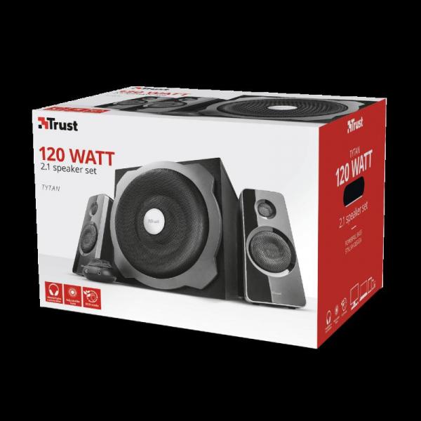 Trust Tytan 2.1 Speaker Set - black 5