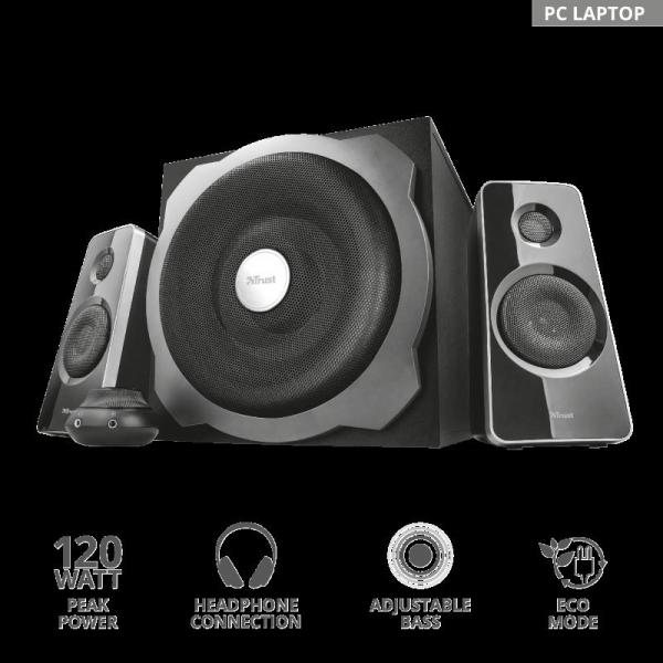Trust Tytan 2.1 Speaker Set - black 1