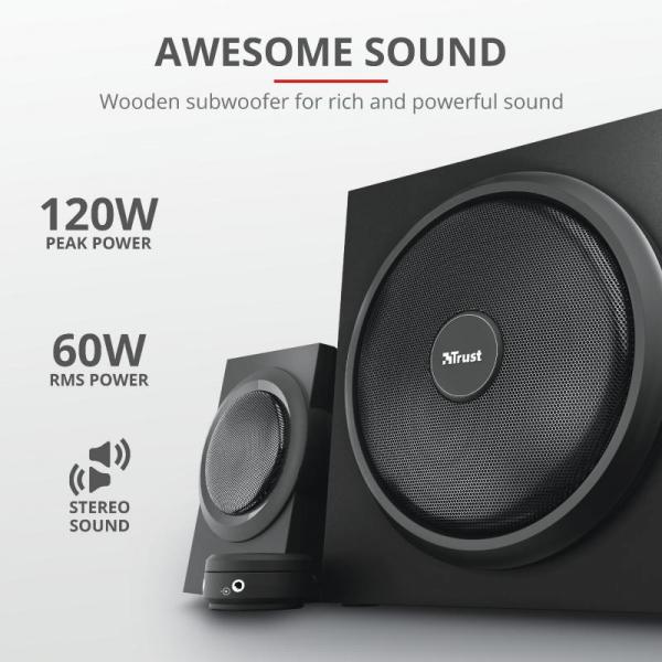Trust Yuri 2.1 Speaker Set 3
