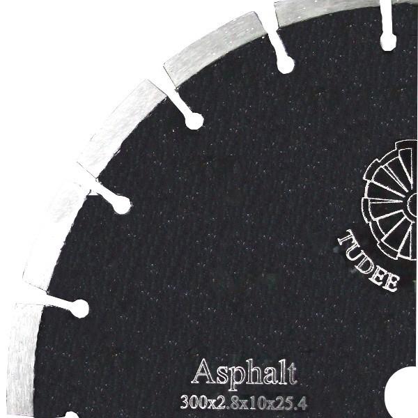 Tudee 300x25.4mm, Disc diamantat debitare asfalt [0]