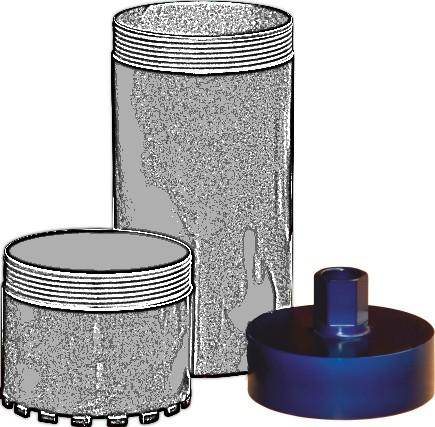 Tudee SCH252 cupla carota 252mm prindere 1-1/4UNC 0